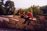 První nahrávka z Prahy se odehrála na hradbách.